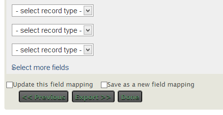 what fields