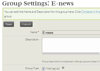 Group-mailing list